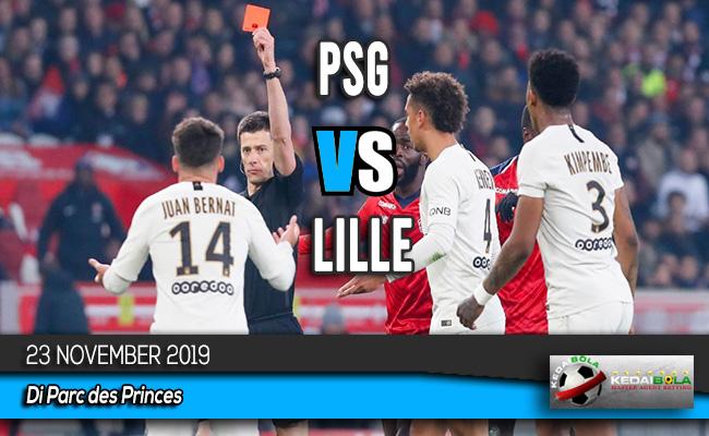 Prediksi Skor Bola PSG vs Lille 23 November 2019
