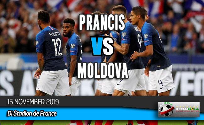 Prediksi Skor Bola Prancis vs Moldova 15 November 2019