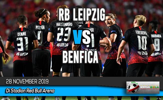 Prediksi Skor Bola RB Leipzig vs Benfica 28 November 2019