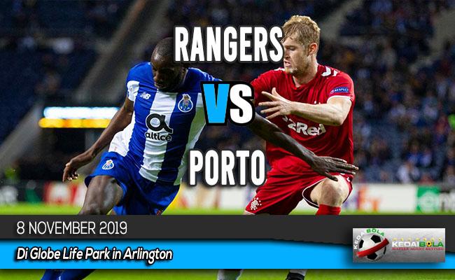 Prediksi Skor Bola Rangers vs Porto 8 November 2019