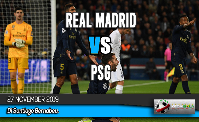 Prediksi Skor Bola Real Madrid vs PSG 27 November 2019