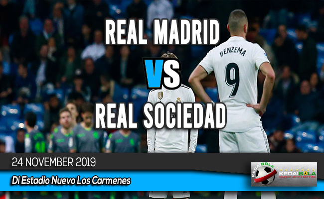 Prediksi Skor Bola Real Madrid vs Real Sociedad 24 November 2019