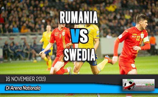 Prediksi Skor Bola Rumania vs Swedia 16 November 2019