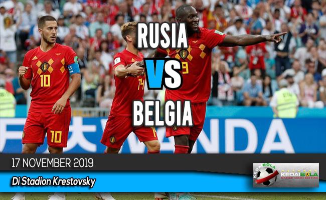 Prediksi Skor Bola Rusia vs Belgia 17 November 2019