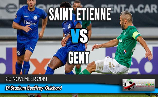 Prediksi Skor Bola Saint Etienne vs Gent 29 November 2019