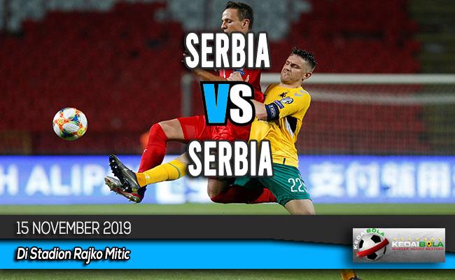 Prediksi Skor Bola Serbia vs Luxembourg 15 November 2019