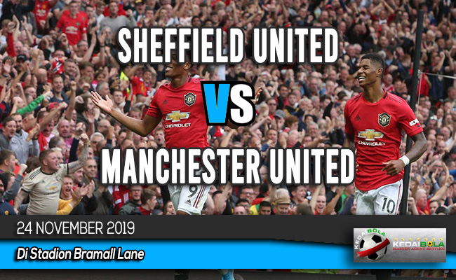 Prediksi Skor Bola Sheffield United vs Manchester United 24 November 2019