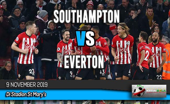 Prediksi Skor Bola Southampton vs Everton 9 November 2019