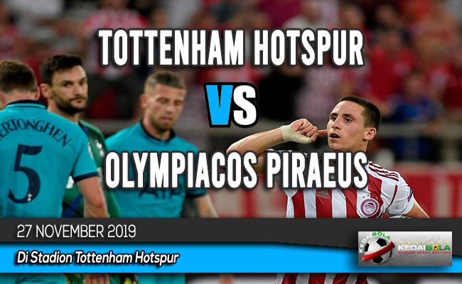 Prediksi Skor Bola Tottenham Hotspur vs Olympiacos Piraeus 27 November 2019