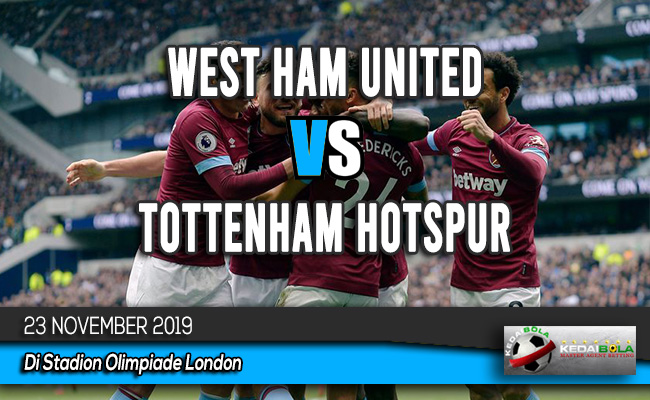 Prediksi Skor Bola West Ham United vs Tottenham Hotspur 23 November 2019
