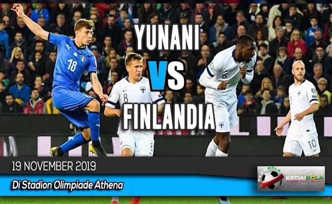 Prediksi Skor Bola Yunani vs Finlandia 19 November 2019