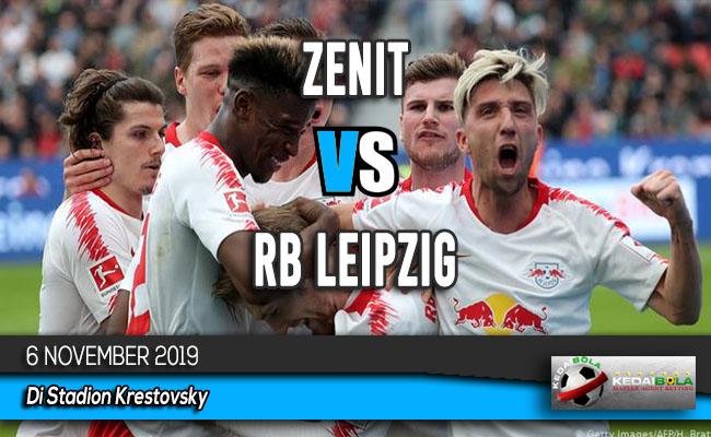 Prediksi Skor Bola Zenit vs RB Leipzig 6 November 2019