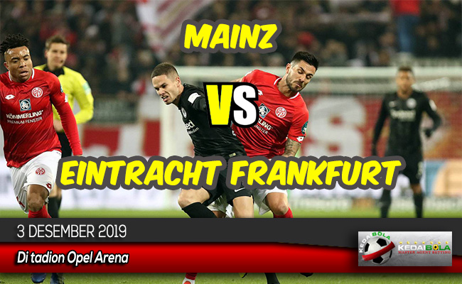 ediksi Skor Bola Mainz vs Eintracht Frankfurt 3 Desember 2019