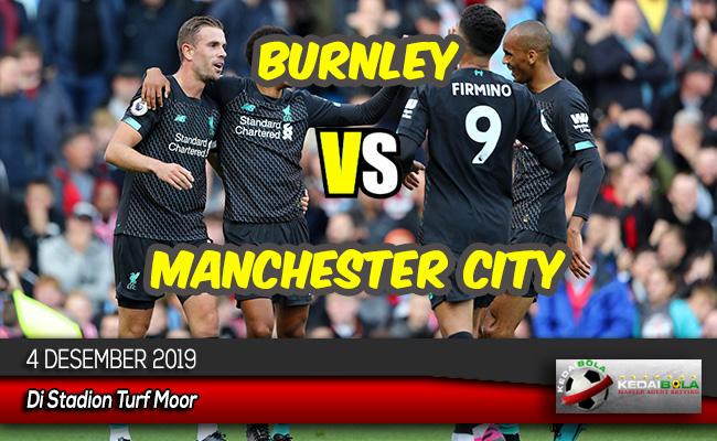 Prediksi Skor Bola Burnley vs Manchester City 4 Desember 2019