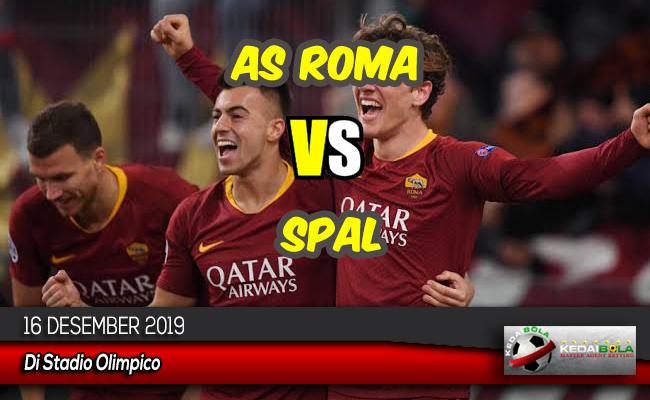Prediksi Skor Bola AS Roma vs SPAL 16 Desember 2019
