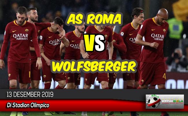 Prediksi Skor Bola AS Roma vs Wolfsberger 13 Desember 2019
