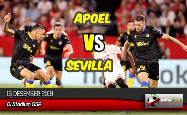 Prediksi Skor Bola Apoel vs Sevilla 13 Desember 2019