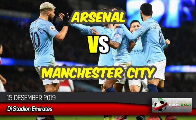 Prediksi Skor Bola Arsenal vs Manchester City 15 Desember 2019