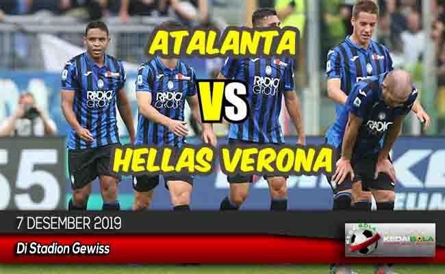Prediksi Skor Bola Atalanta vs Hellas Verona 7 Desember 2019