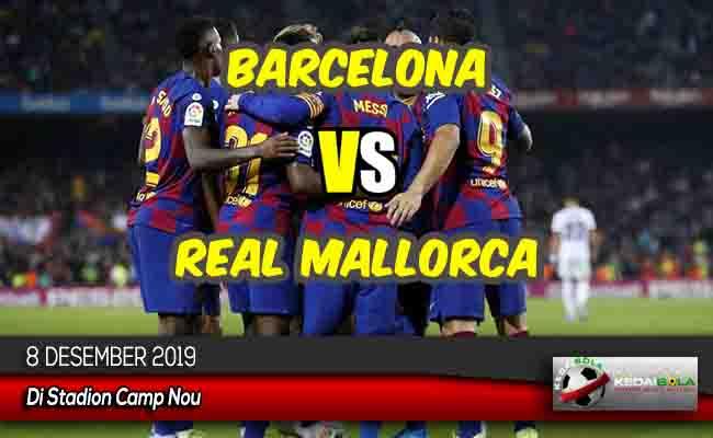 Prediksi Skor Bola Barcelona vs Real Mallorca 8 Desember 2019