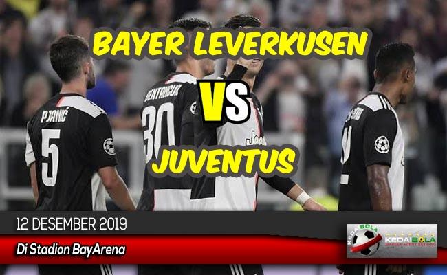 Prediksi Skor Bola Bayer Leverkusen vs Juventus 12 Desember 2019