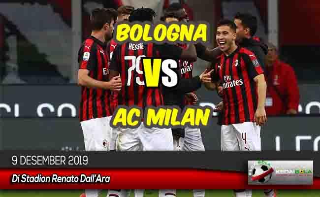 Prediksi Skor Bola Bologna vs AC Milan 9 Desember 2019