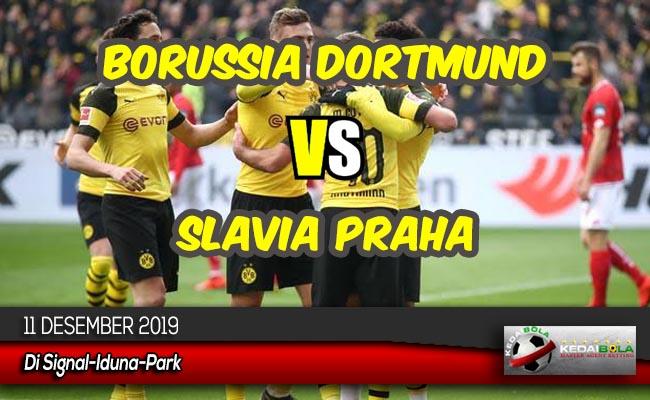Prediksi Skor Bola Borussia Dortmund vs Slavia Praha 11 Desember 2019