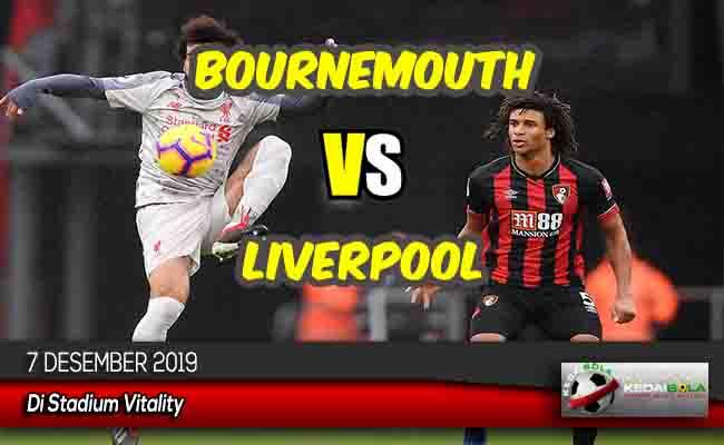 Prediksi Skor Bola Bournemouth vs Liverpool 7 Desember 2019