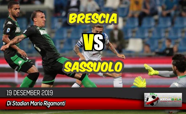 Prediksi Skor Bola Brescia vs Sassuolo 19 Desember 2019