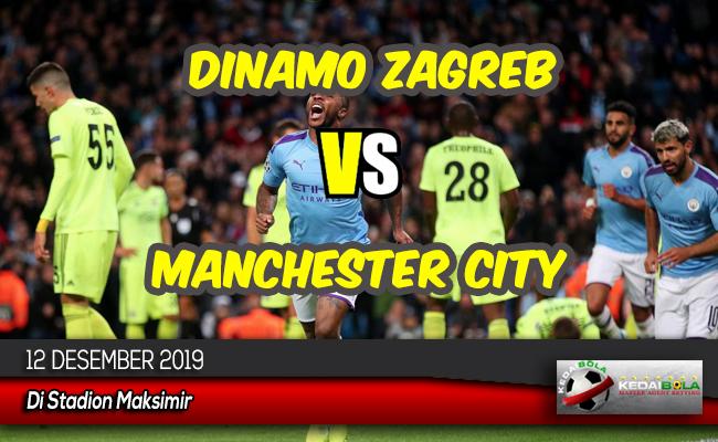 Prediksi Skor Bola Dinamo Zagreb vs Manchester City 12 Desember 2019