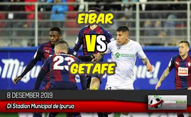 Prediksi Skor Bola Eibar vs Getafe 8 Desember 2019