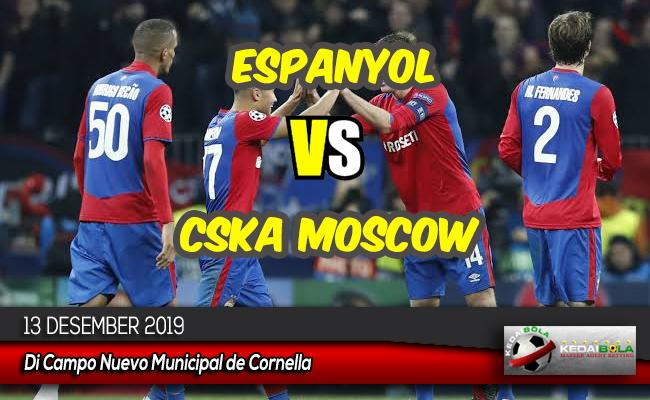 Prediksi Skor Bola Espanyol vs CSKA Moscow 13 Desember 2019