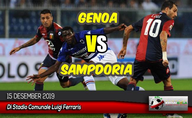 Prediksi Skor Bola Genoa vs Sampdoria 15 Desember 2019