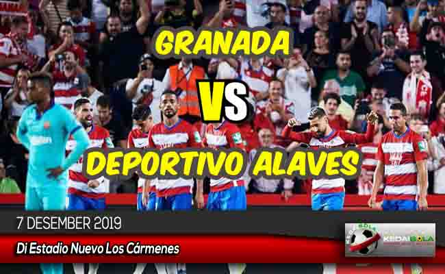 Prediksi Skor Bola Granada vs Deportivo Alaves 7 Desember 2019