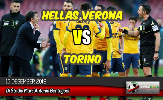 Prediksi Skor Bola Hellas Verona vs Torino 15 Desember 2019