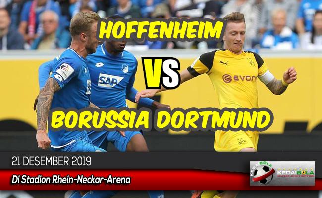 Prediksi Skor Bola Hoffenheim vs Borussia Dortmund 21 Desember 2019