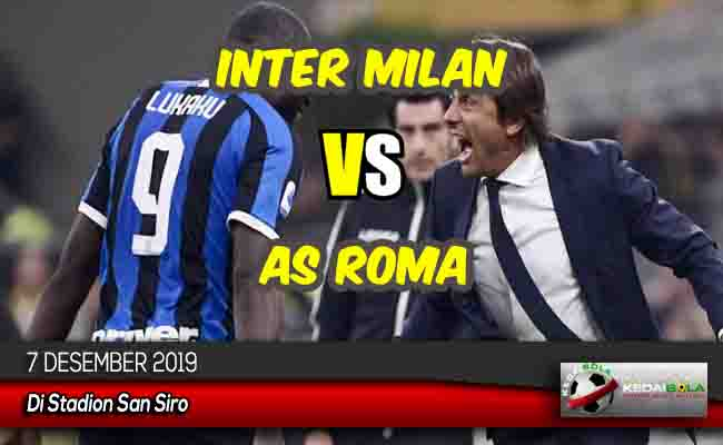Prediksi Skor Bola Inter Milan vs AS Roma 7 Desember 2019