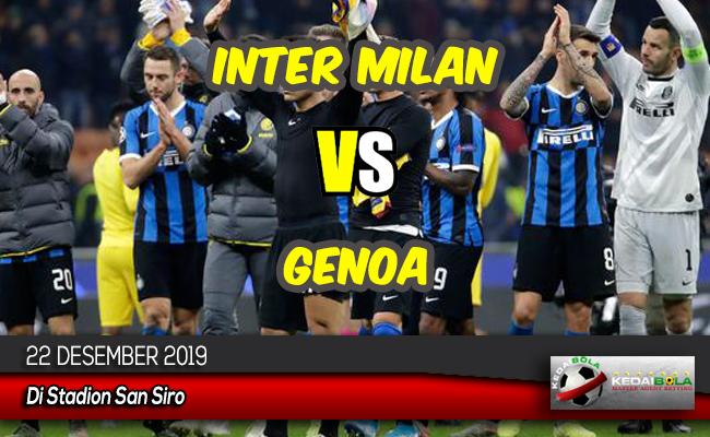 Prediksi Skor Bola Inter Milan vs Genoa 22 Desember 2019