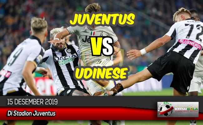 Prediksi Skor Bola Juventus vs Udinese 15 Desember 2019