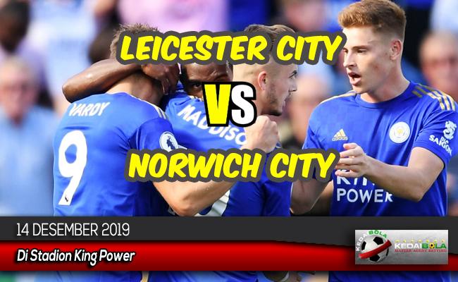 Prediksi Skor Bola Leicester City vs Norwich City 14 Desember 2019