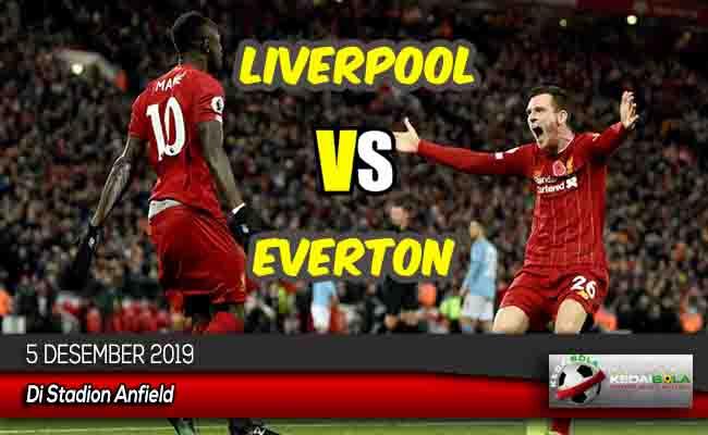 Prediksi Skor Bola Liverpool vs Everton 5 Desember 2019
