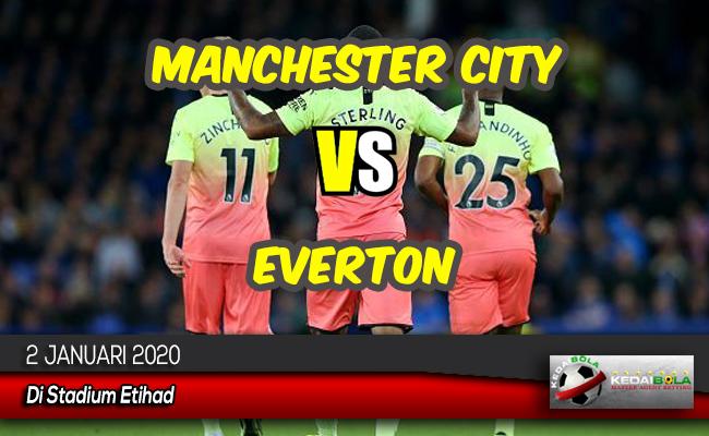 Prediksi Skor Bola Manchester City vs Everton 2 Januari 2020