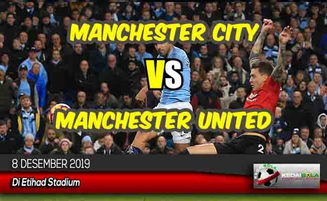Prediksi Skor Bola Manchester City vs Manchester United 8 Desember 2019
