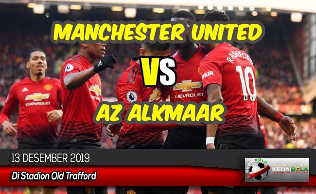 Prediksi Skor Bola Manchester United vs AZ Alkmaar 13 Desember 2019