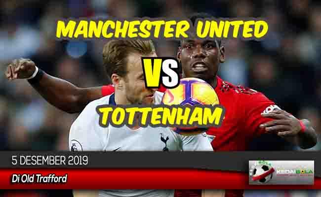 Prediksi Skor Bola Manchester United vs Tottenham 5 Desember 2019