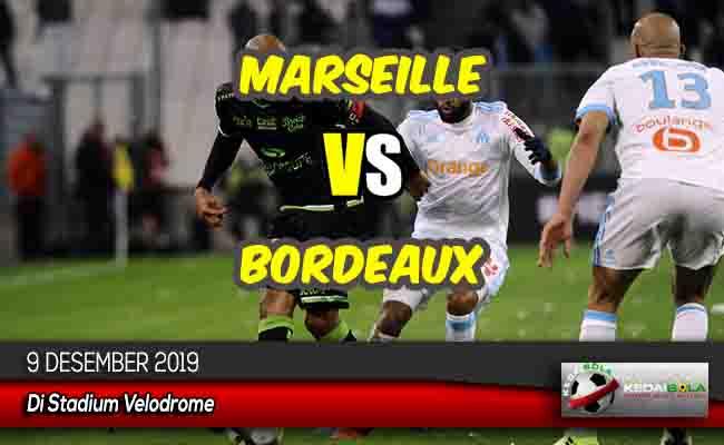 Prediksi Skor Bola Marseille vs Bordeaux 9 Desember 2019