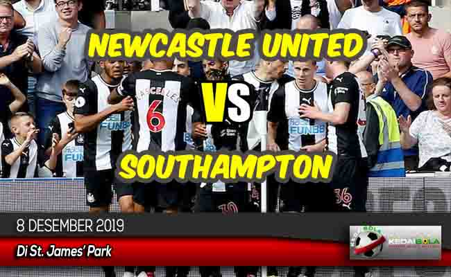 Prediksi Skor Bola Newcastle United vs Southampton 8 Desember 2019