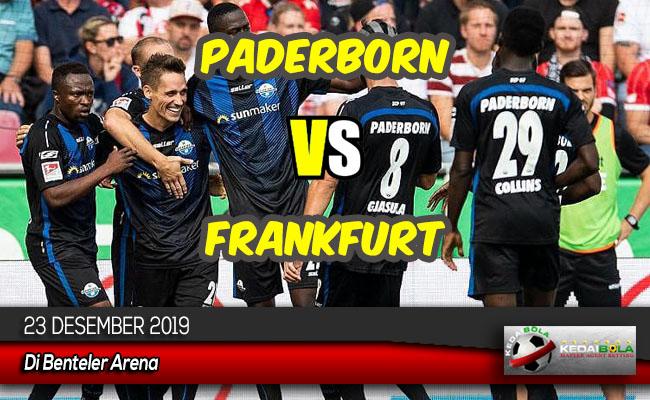 Prediksi Skor Bola Paderborn vs Frankfurt 23 Desember 2019