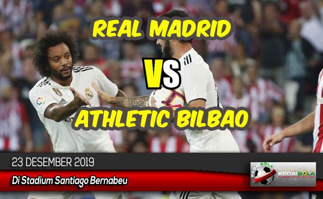 Prediksi Skor Bola Real Madrid vs Athletic Bilbao 23 Desember 2019