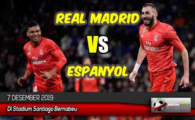 Prediksi Skor Bola Real Madrid vs Espanyol 7 Desember 2019